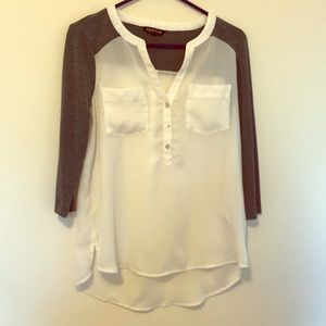 Express 3/4 sleeve blouse